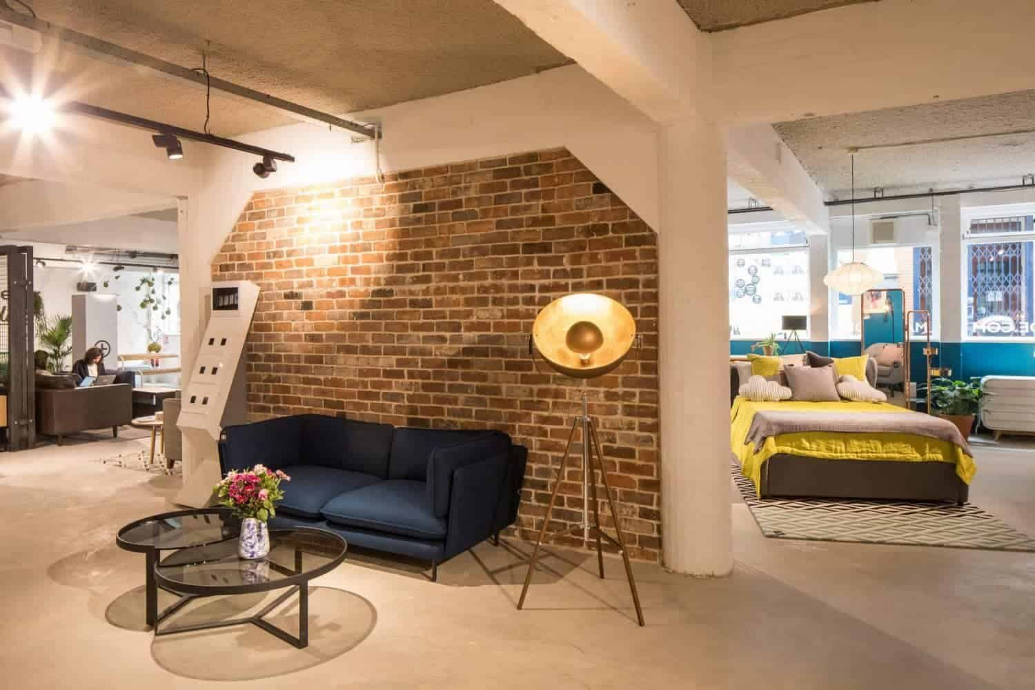 een kijkje in de flagship showroom van made.com in Amsterdam