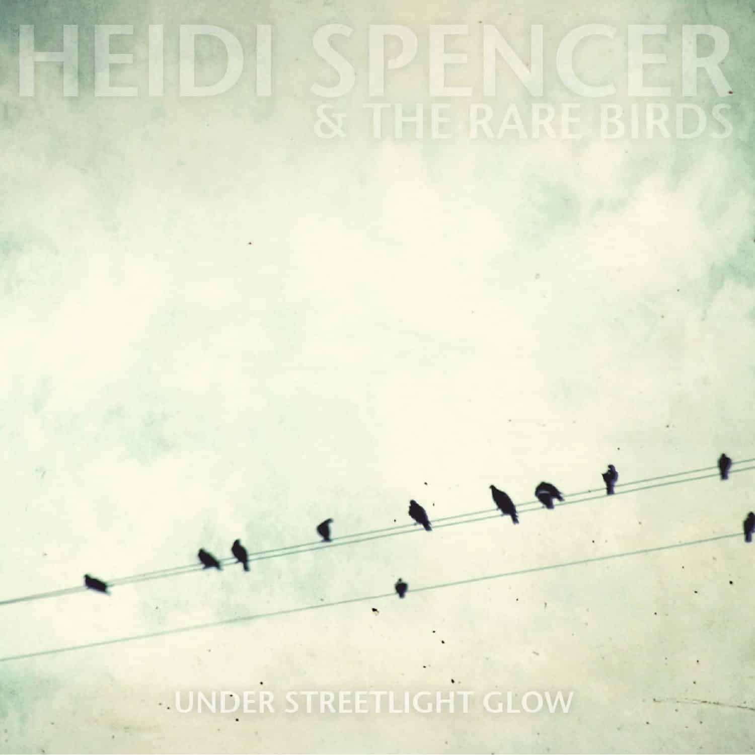 heidi spencer and the rare birds under streetlight glow artwork