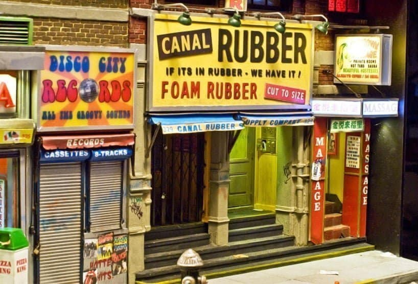 canal rubber