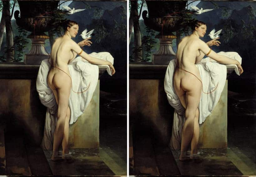 Venere by francesco hayez