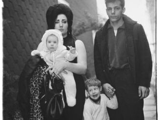 a young brooklyn family going for a sunday outing nyc 1966 c the estate of diane arbus