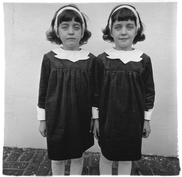 identical twins roselle nj 1967 c the estate of diane arbus