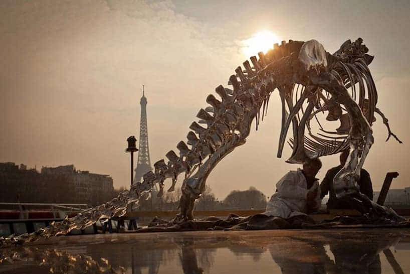 t. rex in Parijs