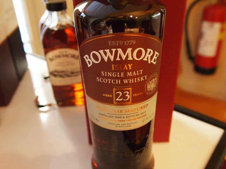 bowmore port matured 23 years old