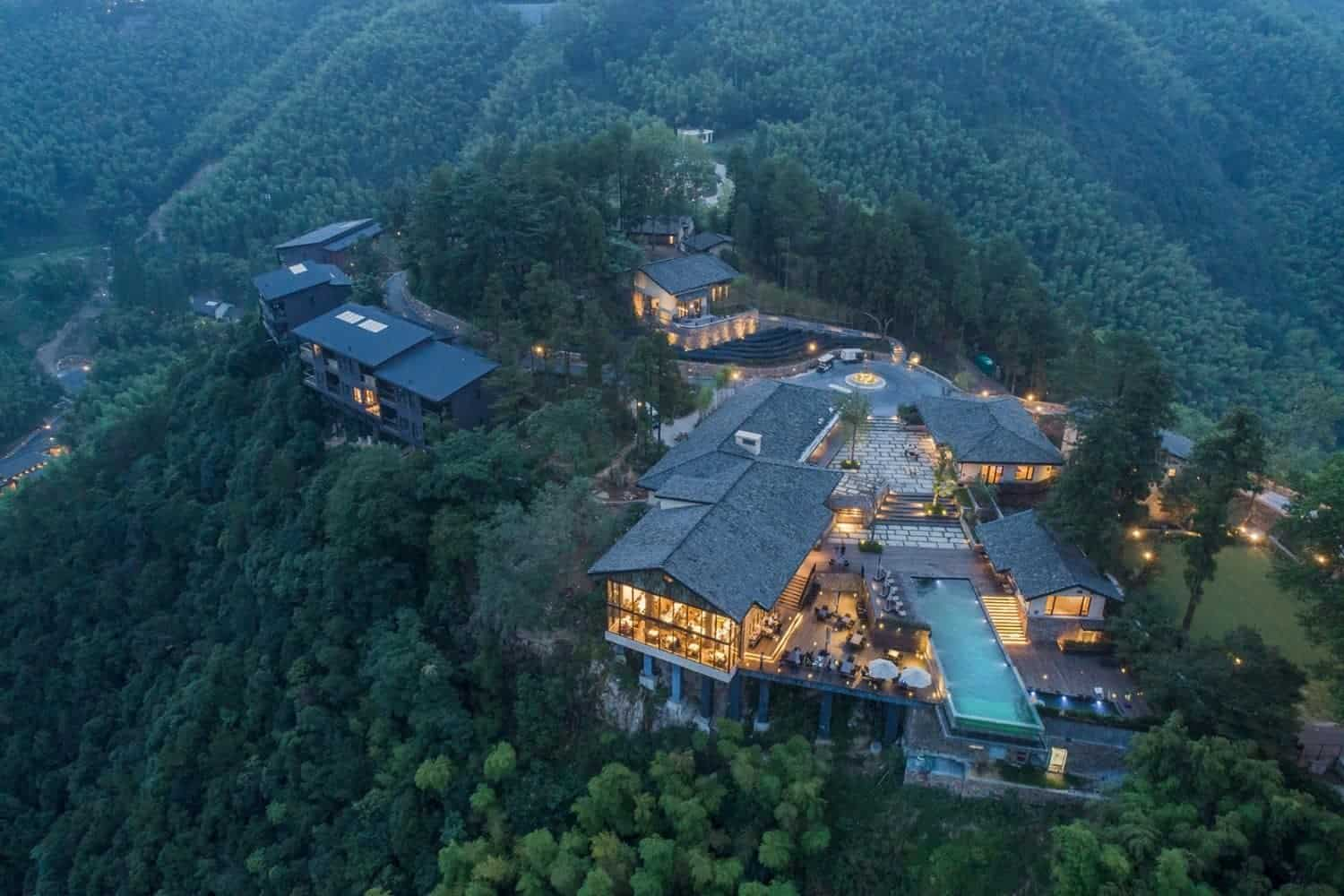 luxe hotel in China
