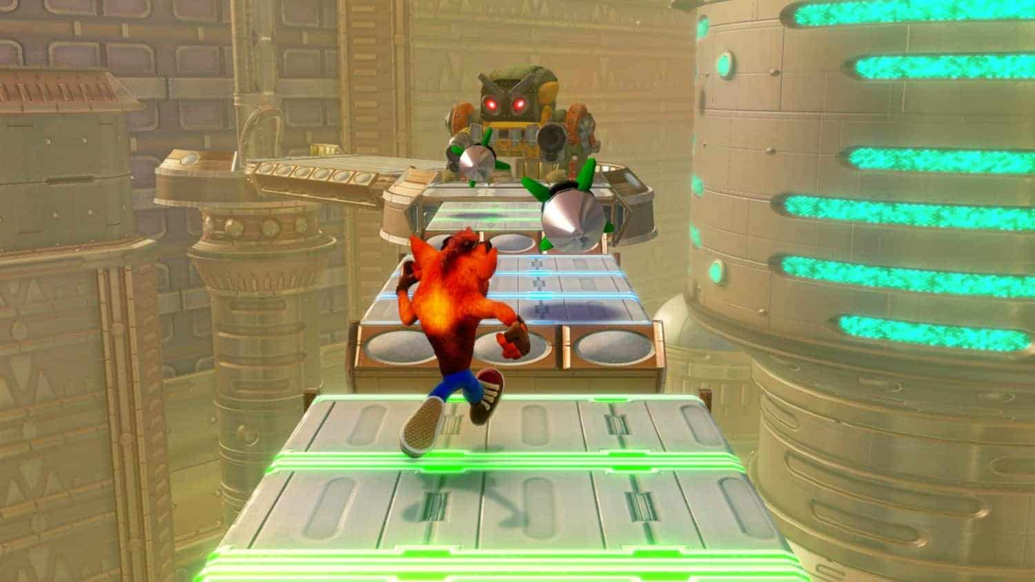 crash op de switch