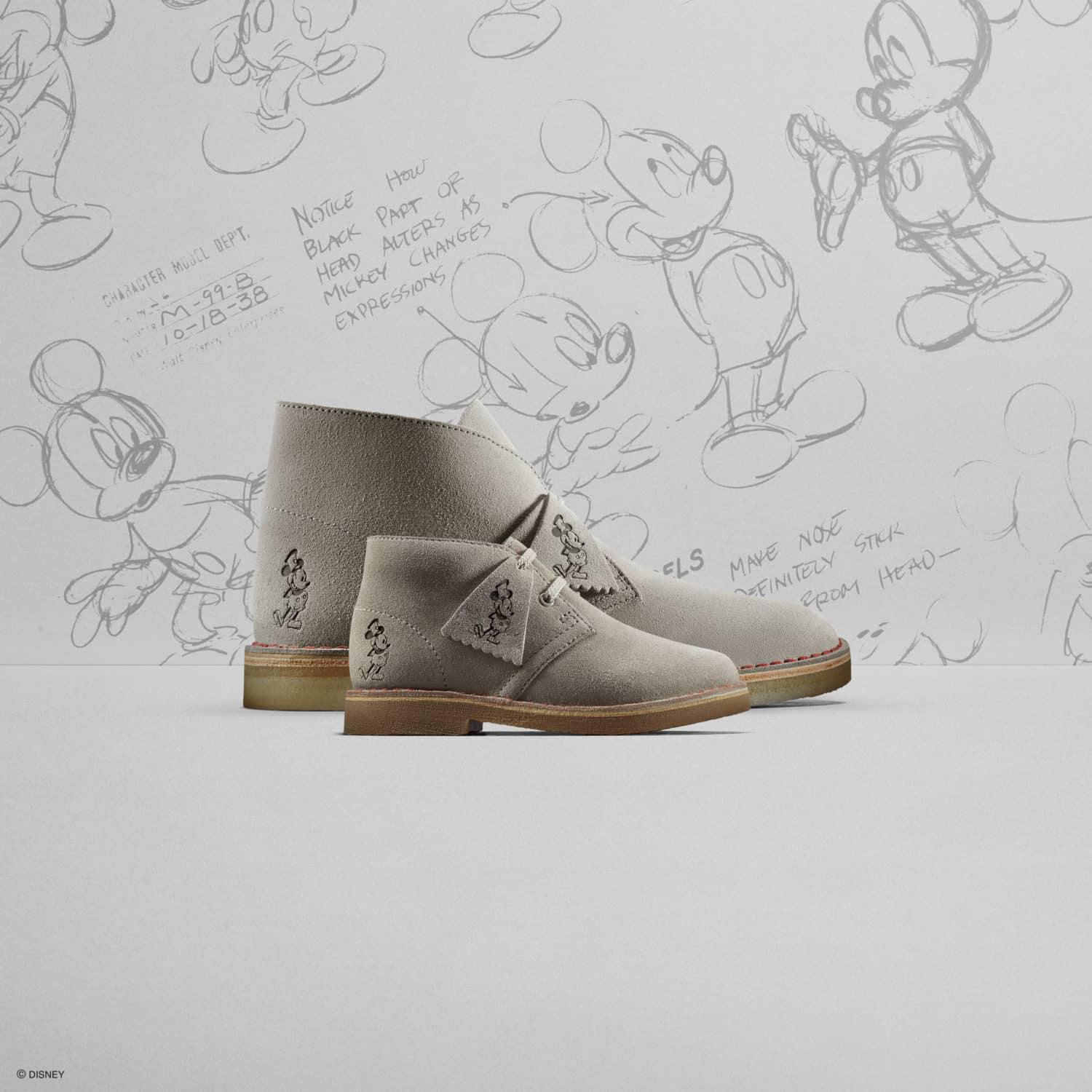 Clarks Desert Boot - Disney Mickey Mouse