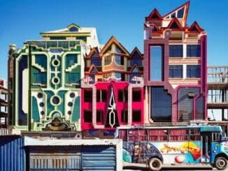 architectuur in El Alto