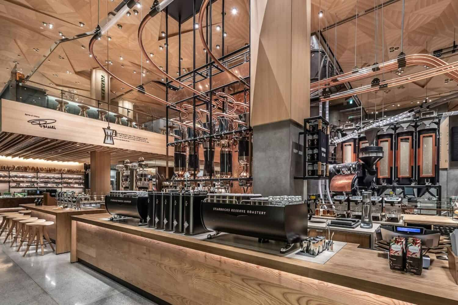 Starbucks Reserve Roastery in Tokio