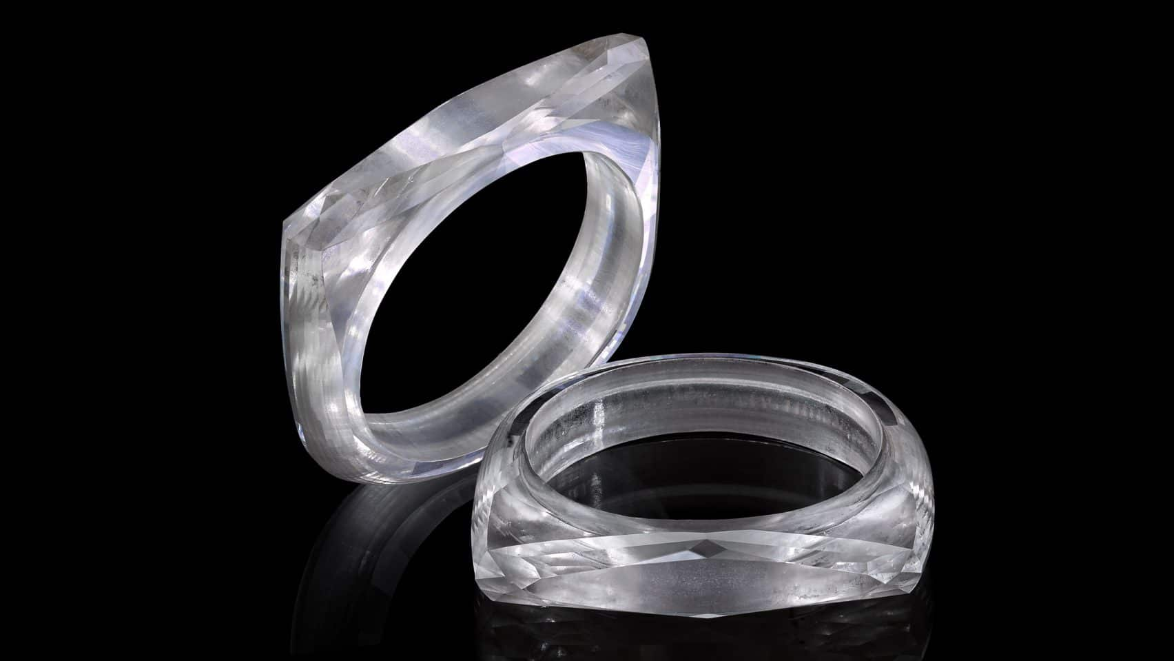 Geheel diamanten ring