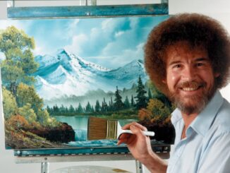 Bob Ross in Museum More