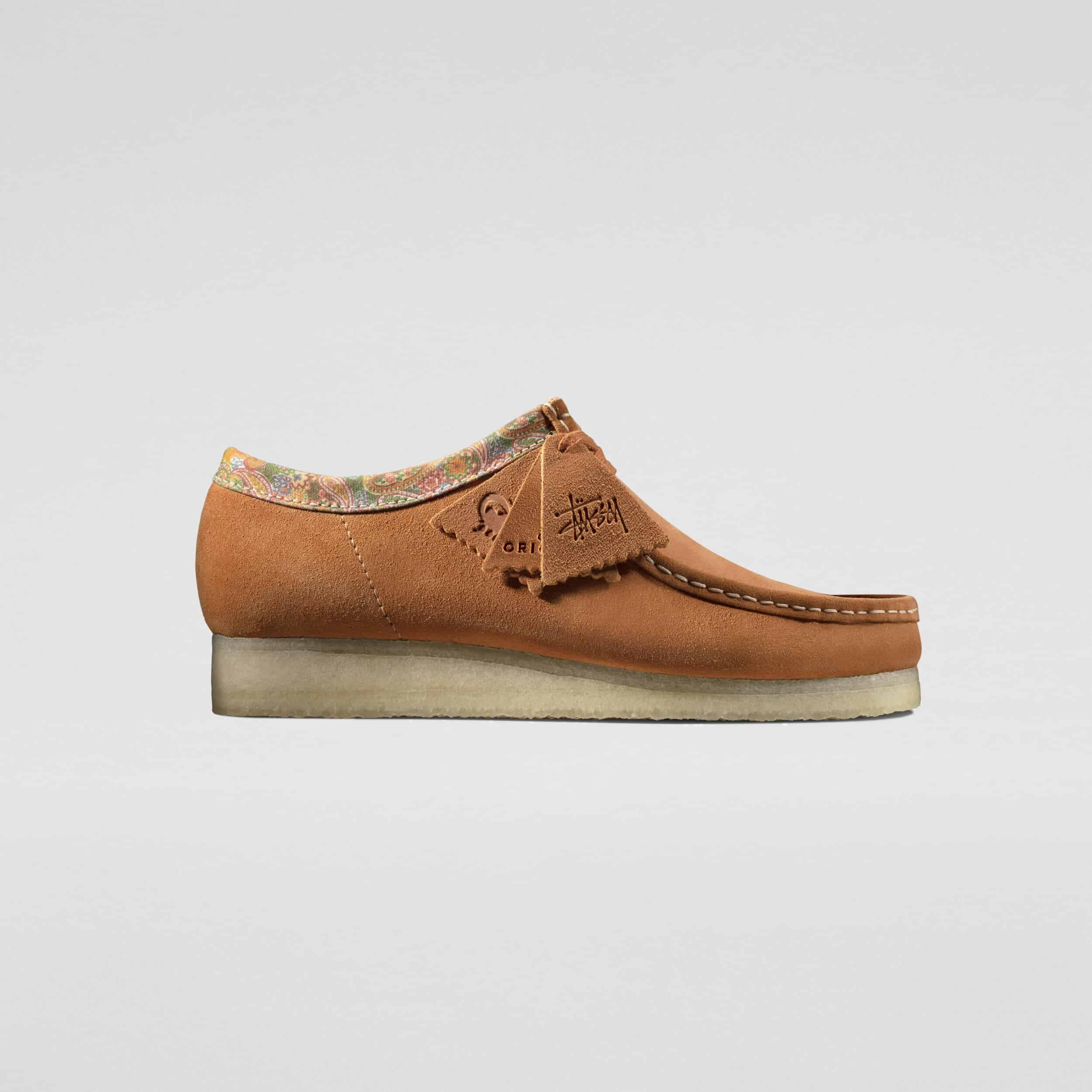 Stussy x Clarks Originals - Wallabee