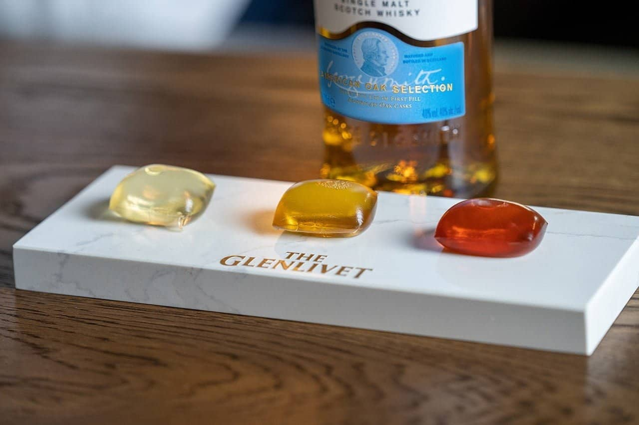 The Glenlivet maakt cocktails in eetbare capsules