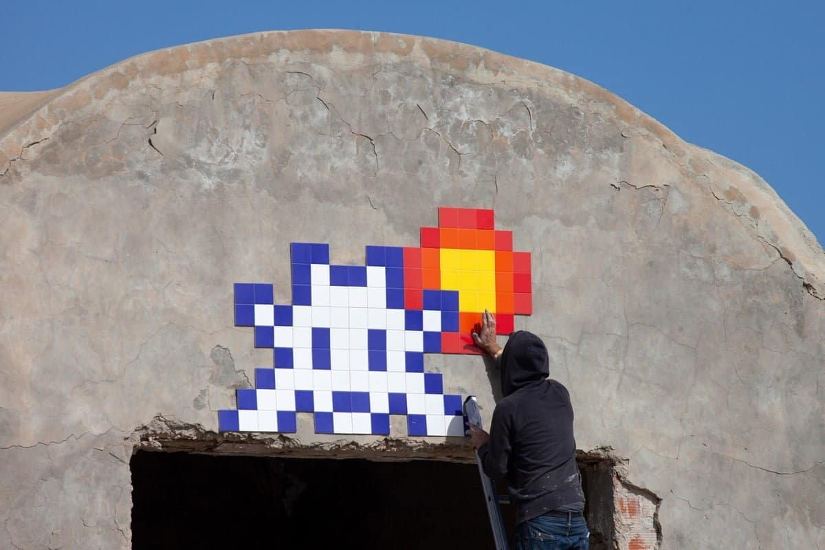Invader in Tunesië
