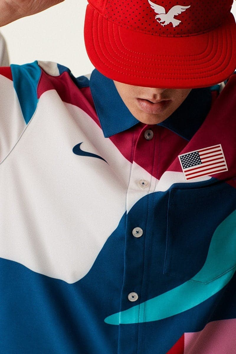Outfits voor Olympische skateboarders