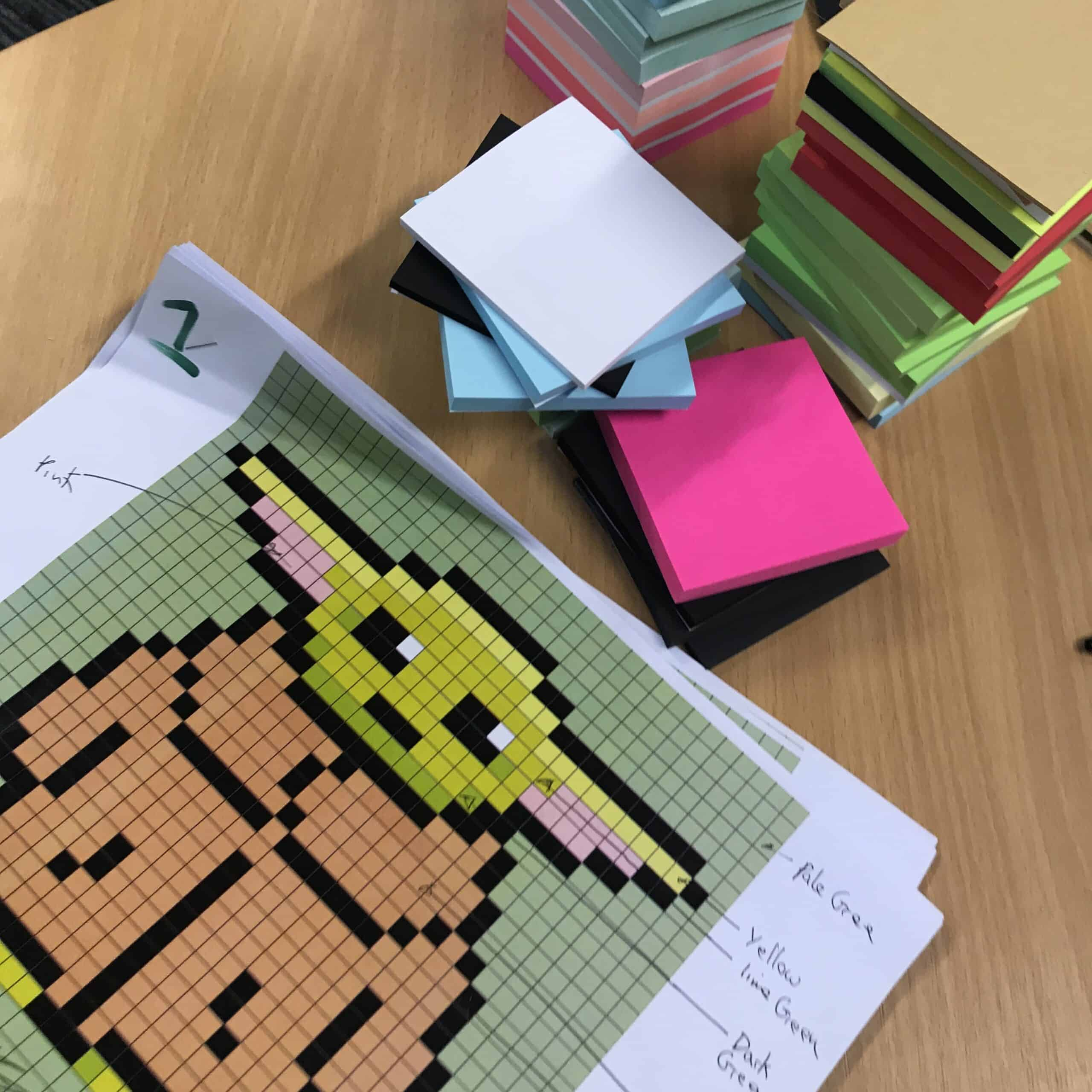 Viking NL Baby Yoda Post-Its