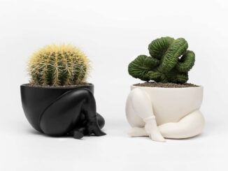 Parra - a high heeled two legged planter