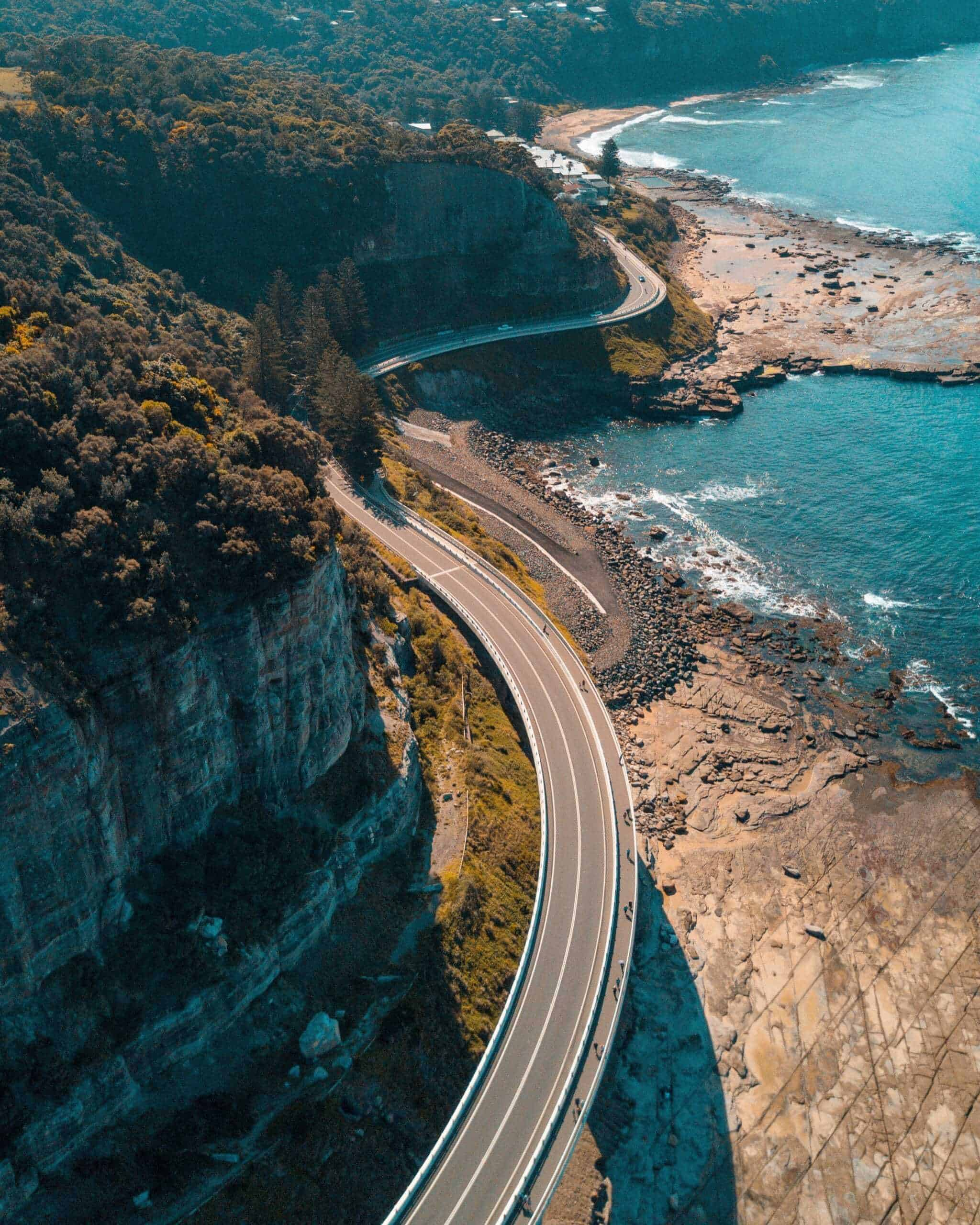Sea Cliff Bridge, Clifton, Australië