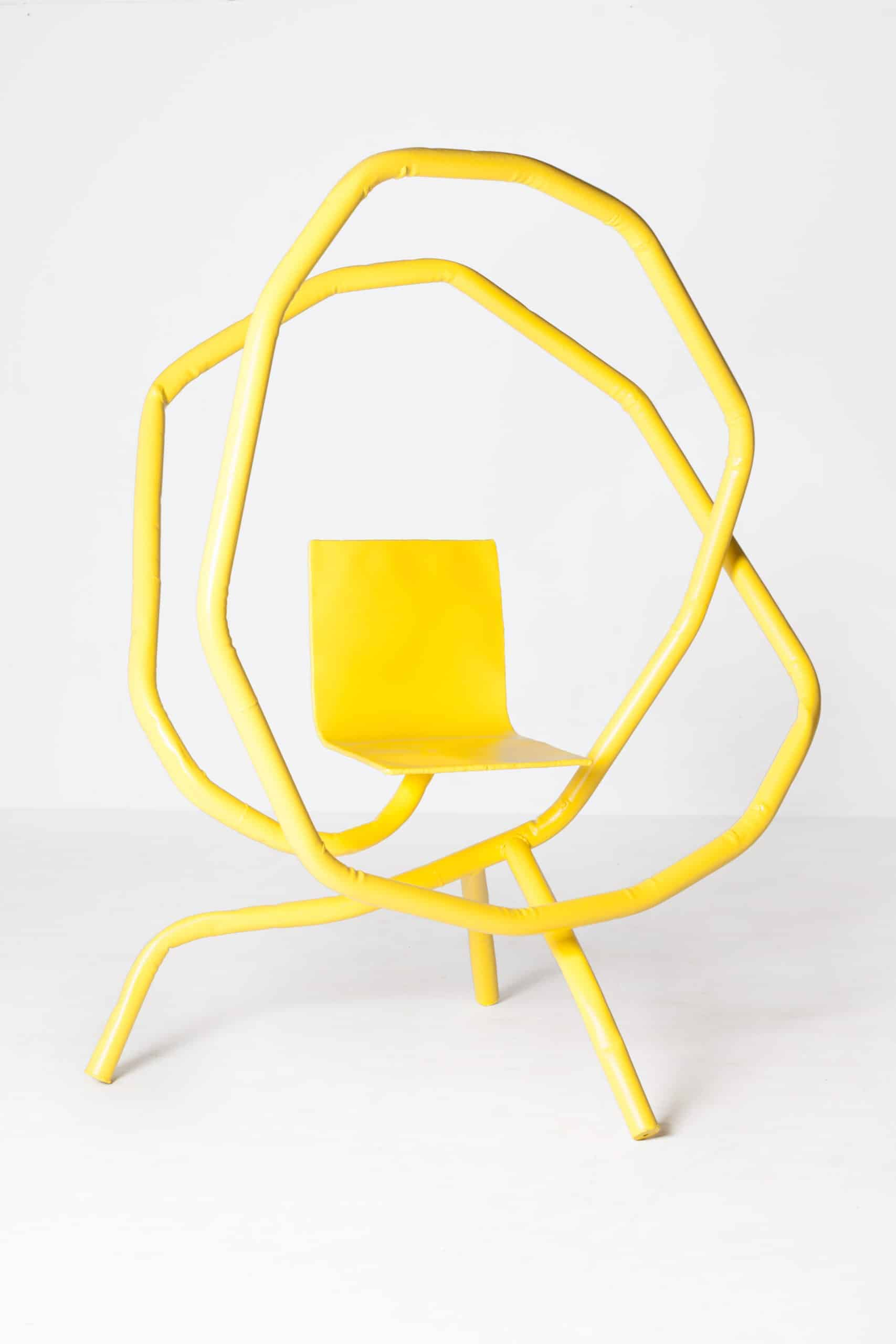 Bart Eysink Smeets - Yellow rocking chair