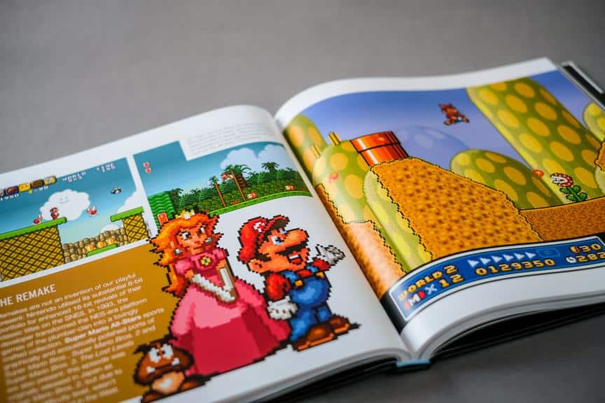 Een reis door de tijd met The Unofficial SNES Pixel Book