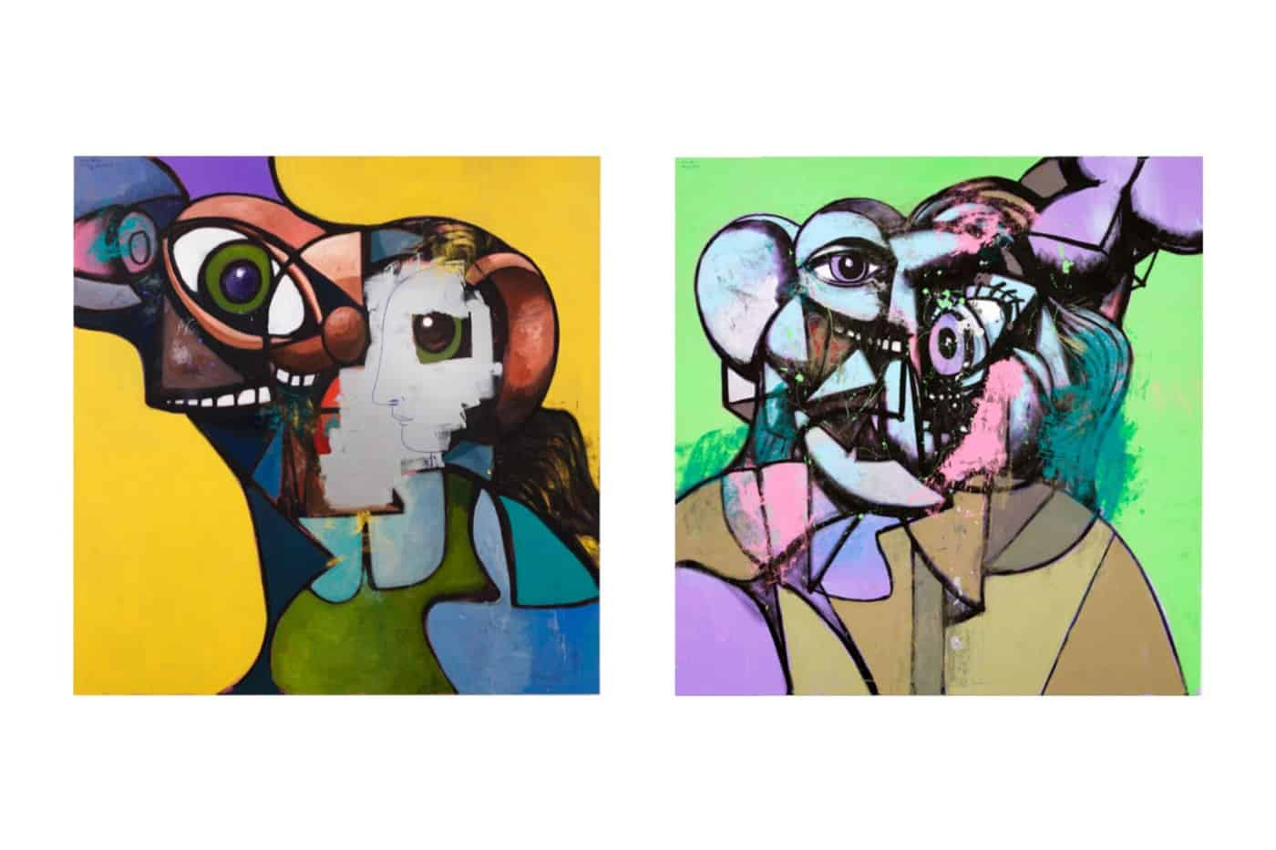 George Condo - Internal Riot