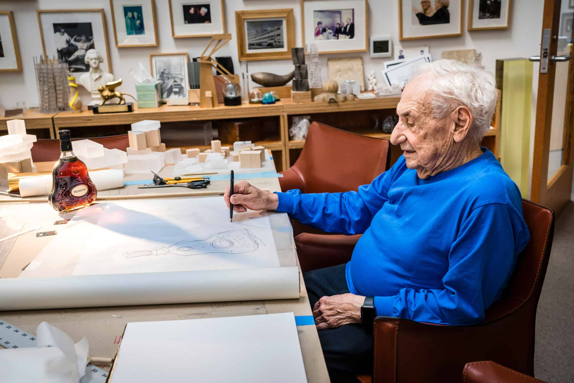 Frank Gehry voor Hennessy X.O.