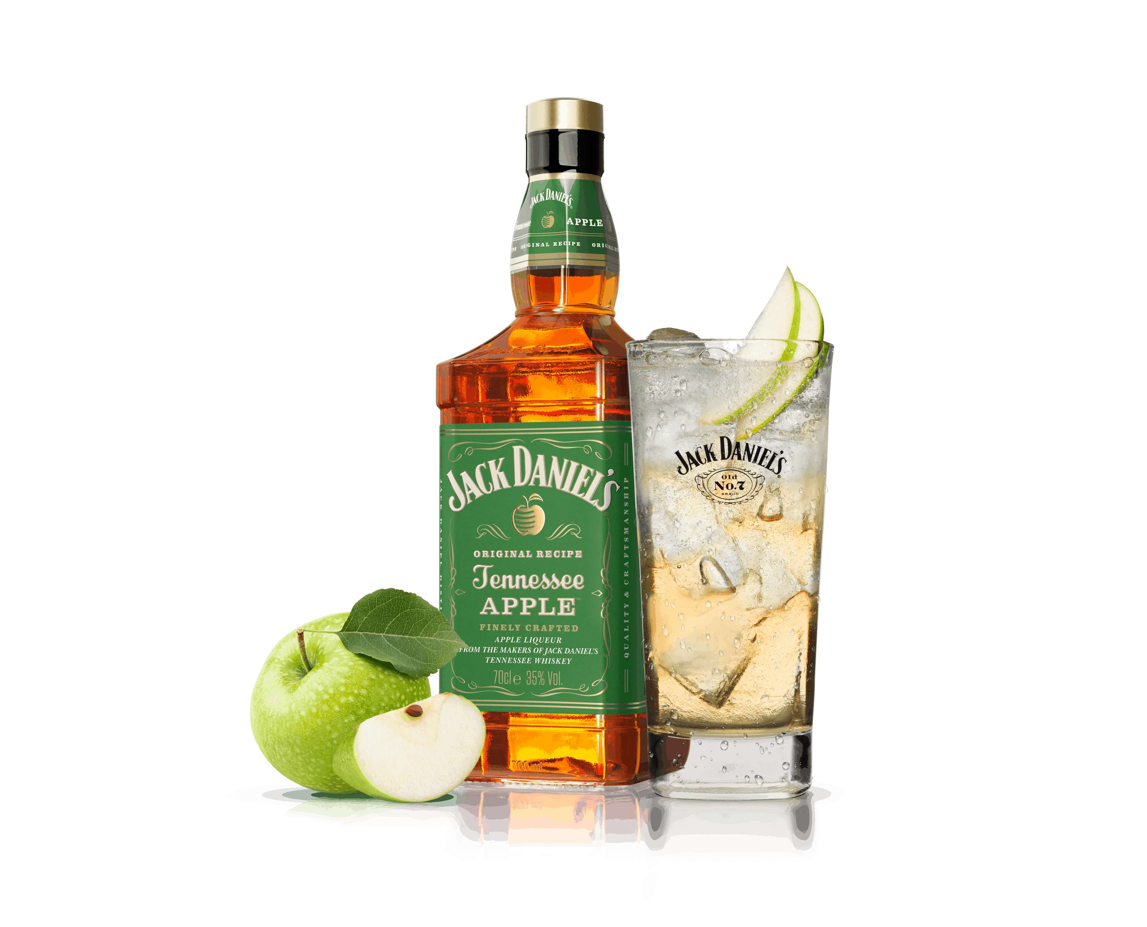 Proef de fruitige Jack Daniel's Tennessee Apple