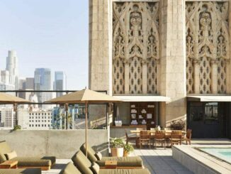 Het Ace Hotel in het Downtown Los Angeles