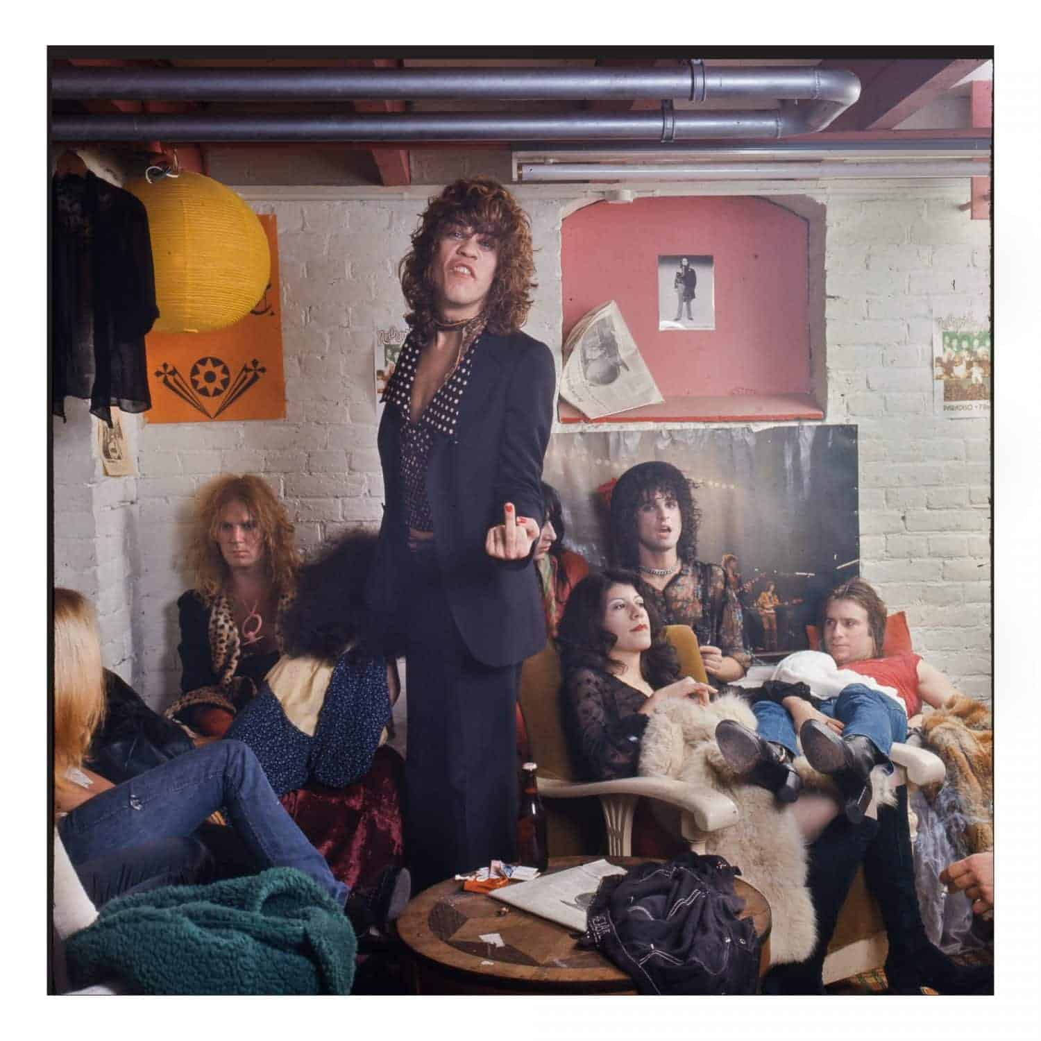 New York Dolls in Paradiso, (c) Gijsbert Hanekroot 1973.