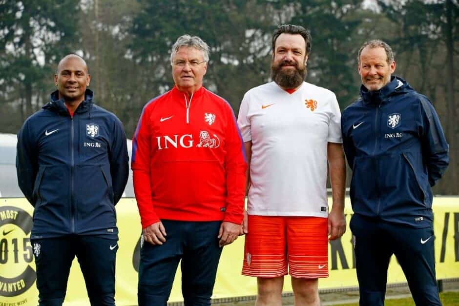 Aaron Winter, Guus Hiddink, Marco Démoet, Danny Blind
