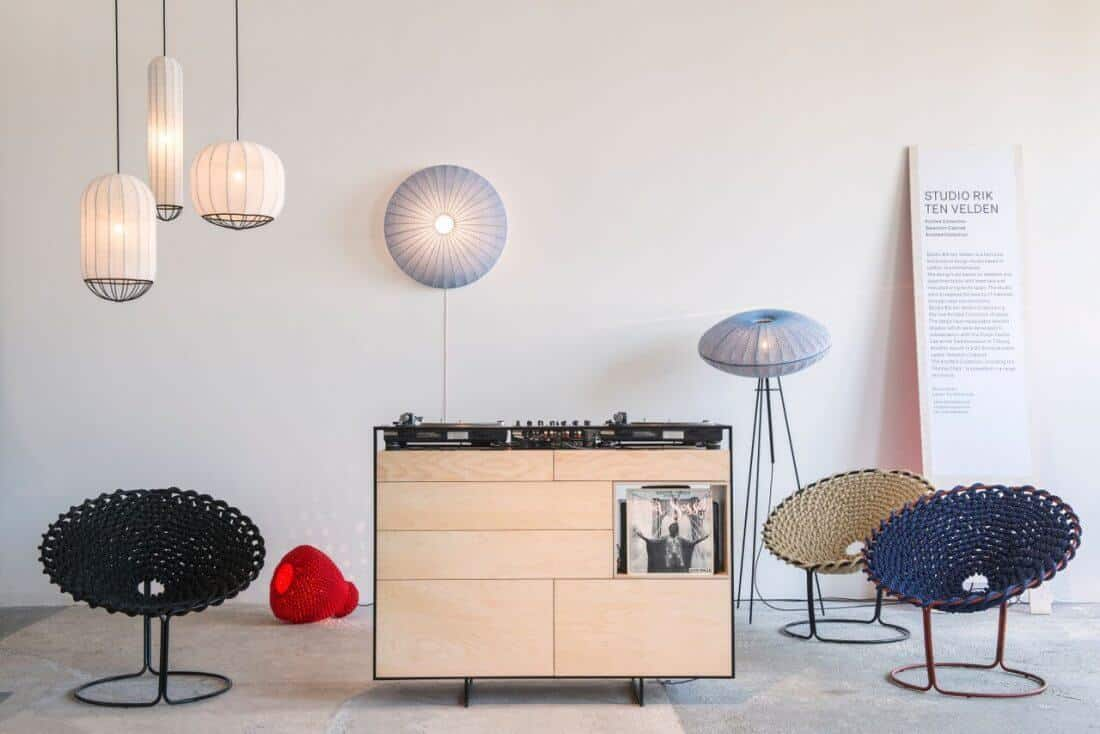 Rik ten Velden Selectors Cabinet & Knotted Collection