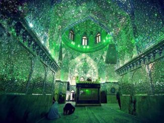 mausoleum in Iran