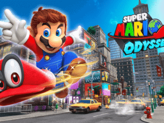 Mario in New Donk City