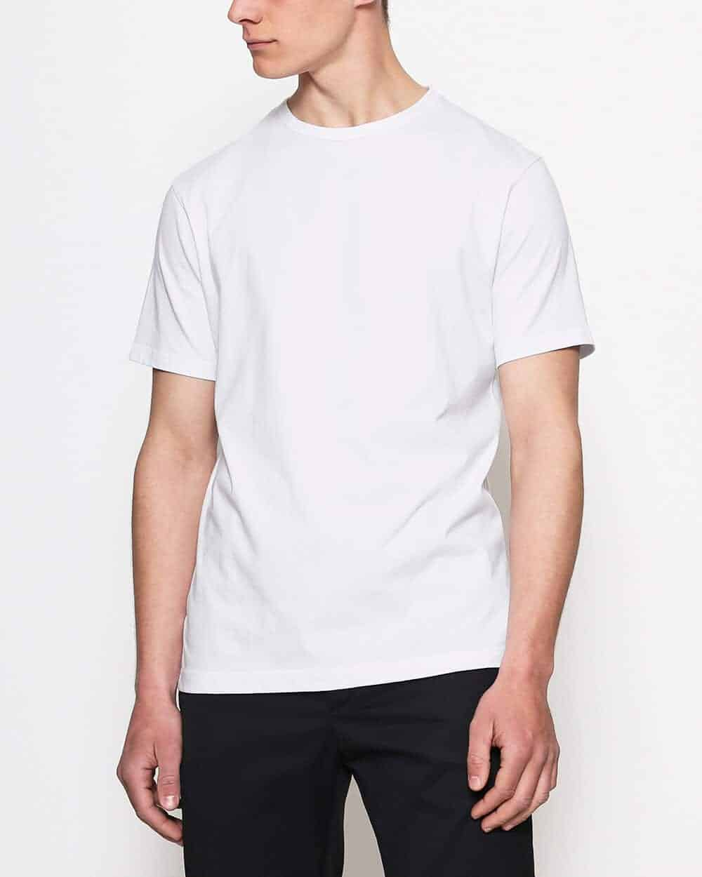Blanc Essentials T-shirt wit