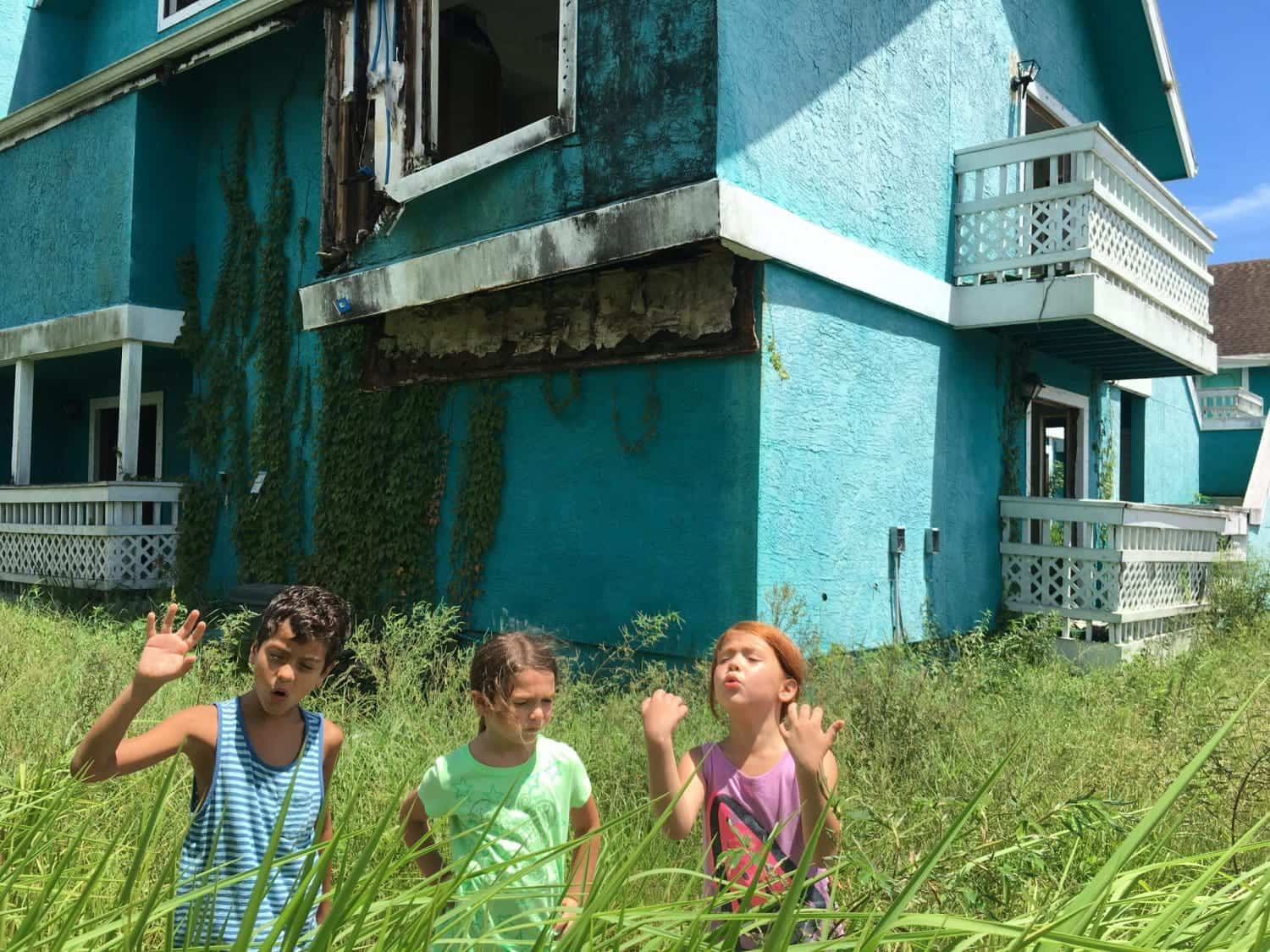 still uit de film The Florida Project