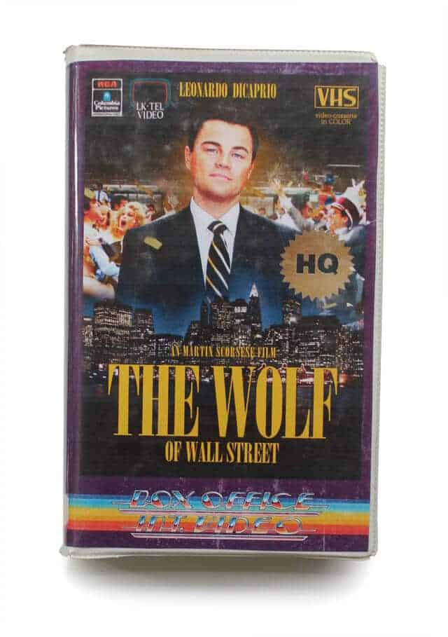 the wolf of wall street op vhs
