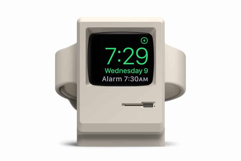 old school oplader voor de Apple Watch