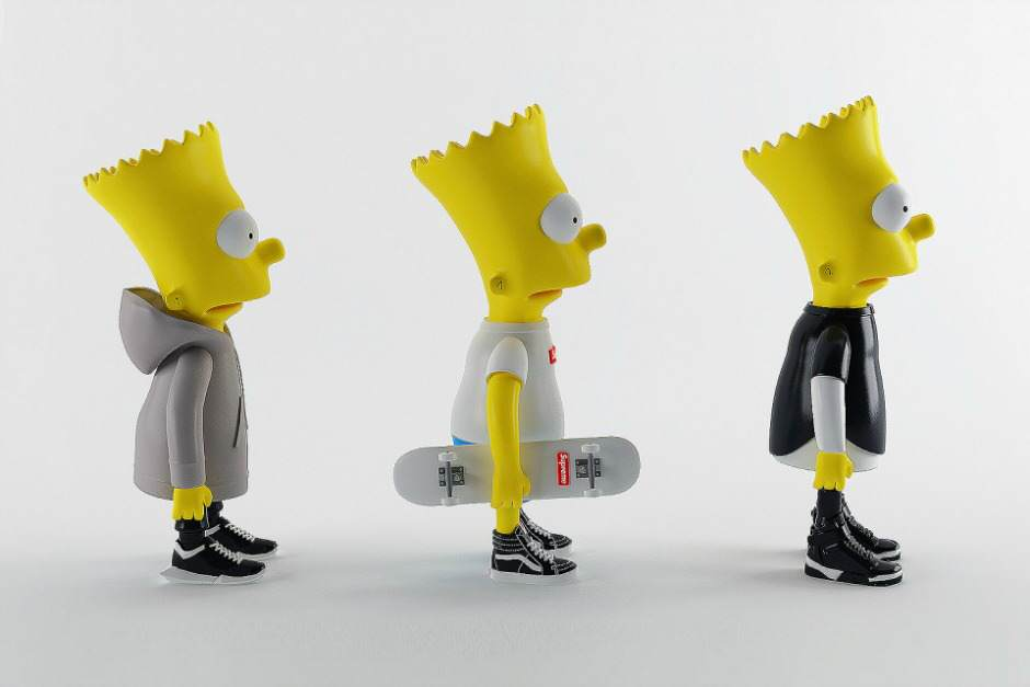 Bart Simpson in de laatste mode