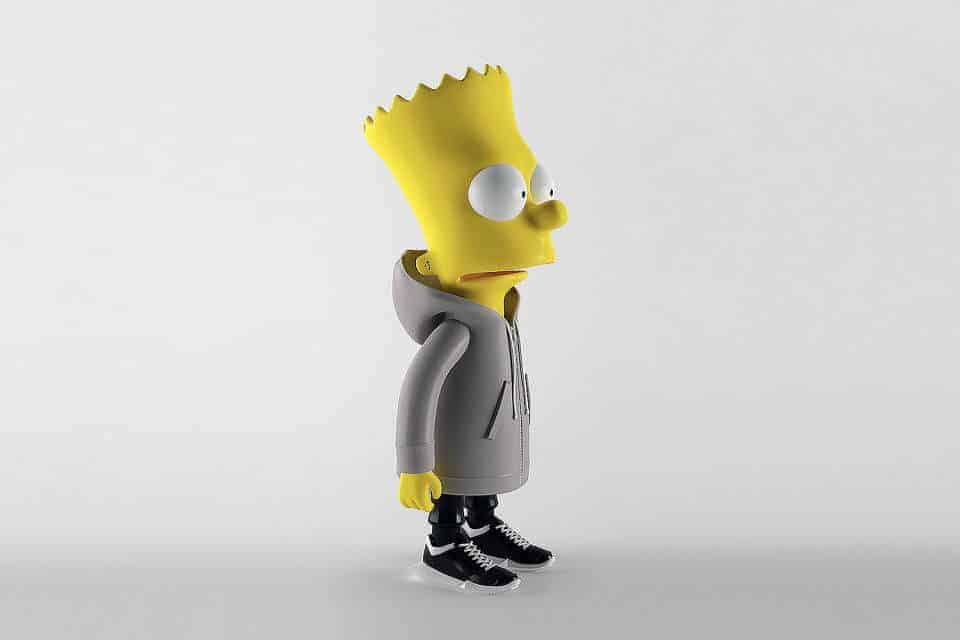 Bart Simpson in Rick Owens