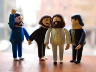 The Beatles uit de 3D-printer 1