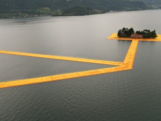Floating Piers van Christo