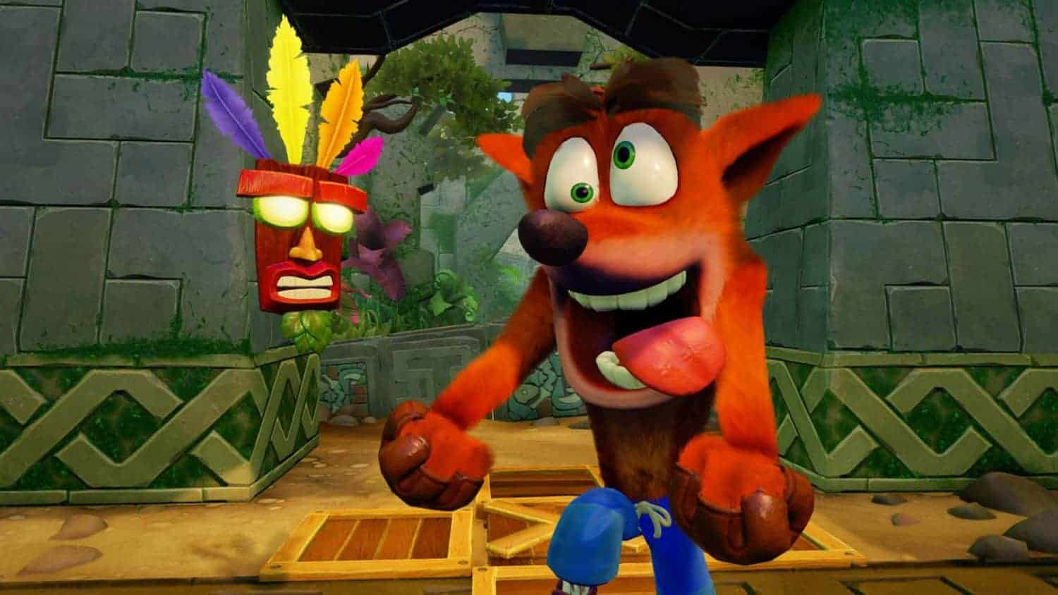 Crash en Aku Aku