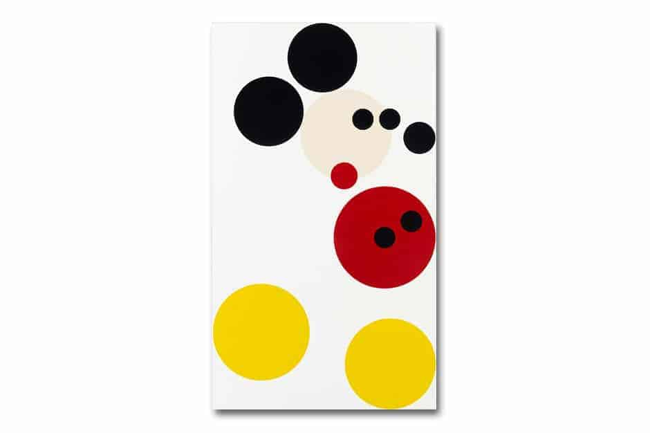 mickey mouse door Damien Hirst