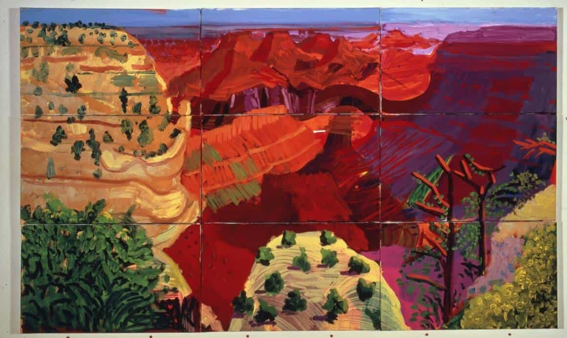 David Hockney in Centre Pompidou