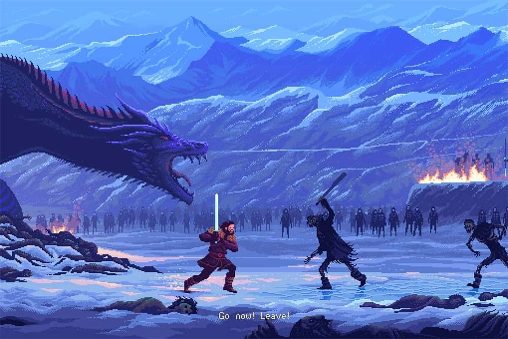 Game of Thrones in 8-bit