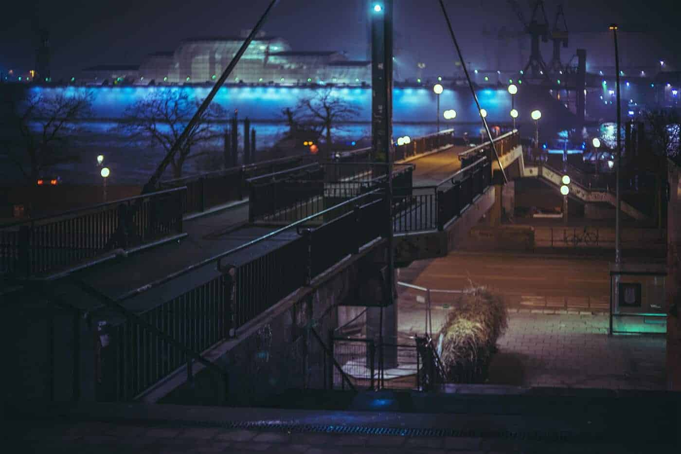 nacht in Hamburg