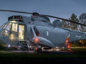 glamping in een helikopter