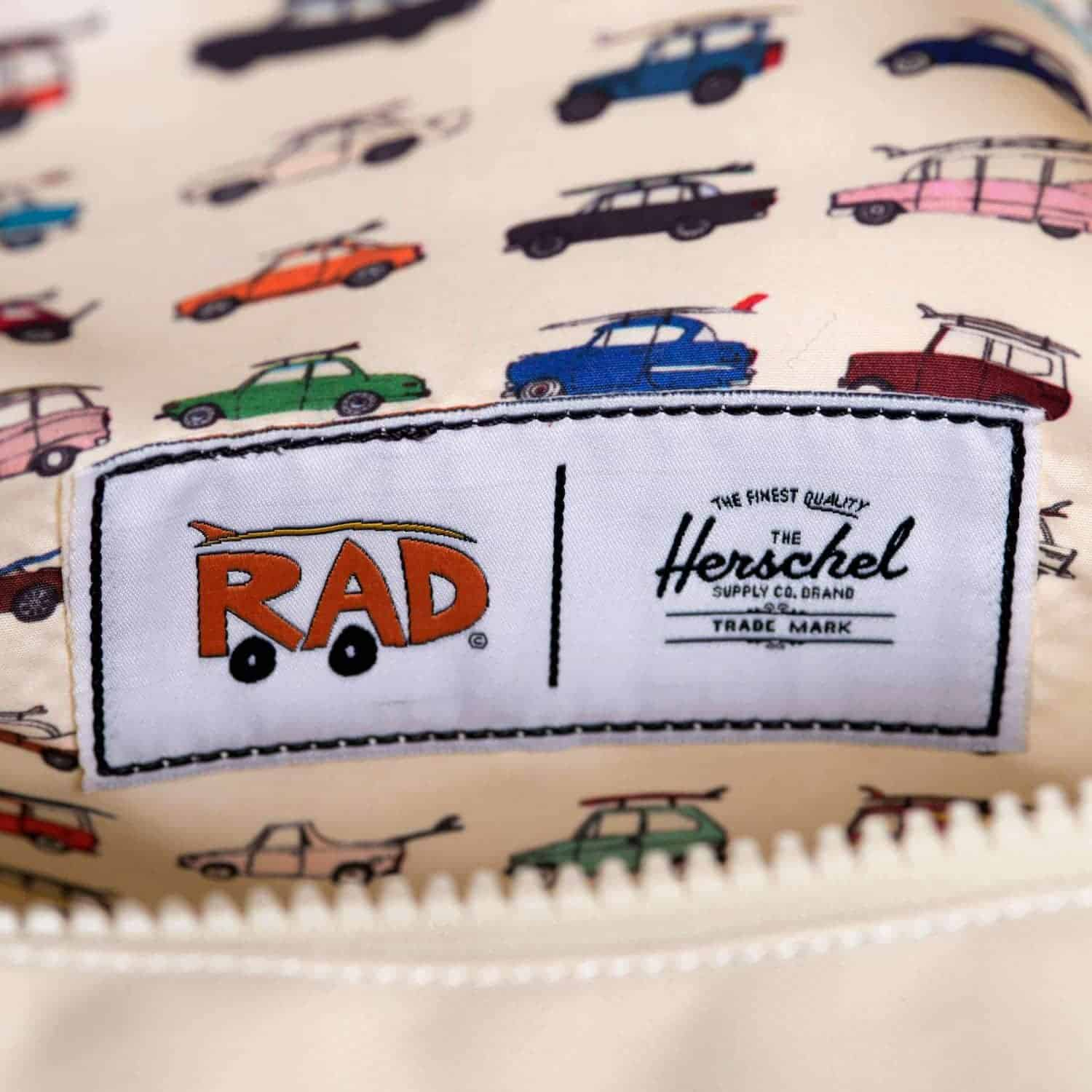 Herschel Supply Co presenteert Rad Cars with Rad Surfboards