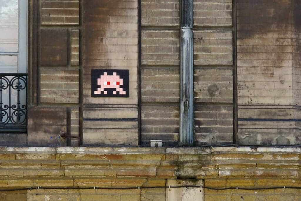 Invader in Toulouse