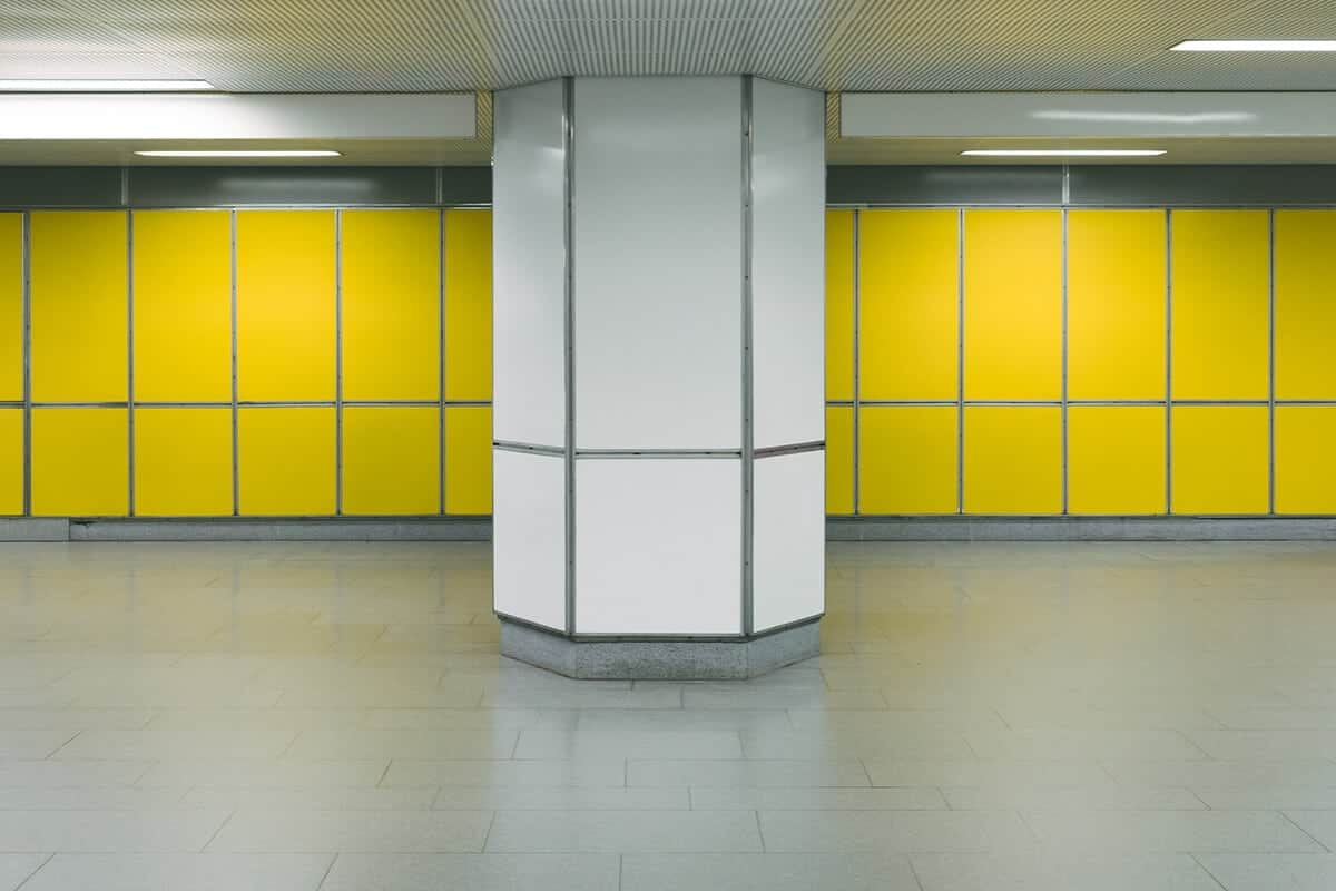 metrostation in Hamburg